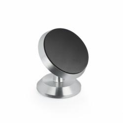 Suport Auto Universal Magnetic Rotativ (Argintiu)