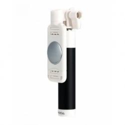 Mini Selfie Stick Universal cu cablu P6 Proda (Negru)