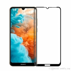 Folie de Sticla 5D HUAWEI Y7 2019 \ Y7 Pro 2019 (Negru) Full Glue