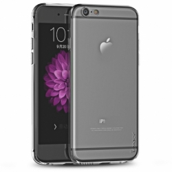 Husa APPLE iPhone 7 \ 8 + Folie Siliconata Full Face (Transparent) Ipaky Effort
