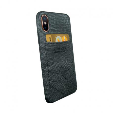 Husa SAMSUNG Galaxy M10 - Focus Pocket (Negru)