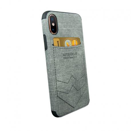 Husa SAMSUNG Galaxy M10 - Focus Pocket (Gri)