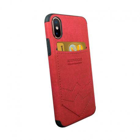 Husa SAMSUNG Galaxy M20 - Focus Pocket (Rosu)