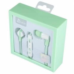 Casti Audio cu Microfon (Verde) ACURA CU-1020
