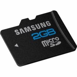 Card SAMSUNG MicroSD 2GB