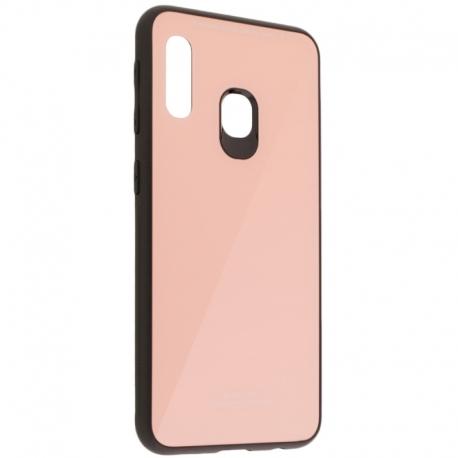 Husa SAMSUNG Galaxy A20e - Glass (Roz)