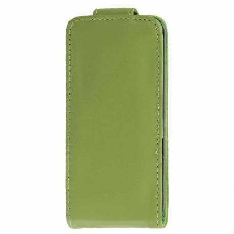Husa HUAWEI Ascend G620s - Flip Vertical (Verde)