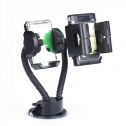 Suport Auto Universal pt. Telefon si GPS (Negru)