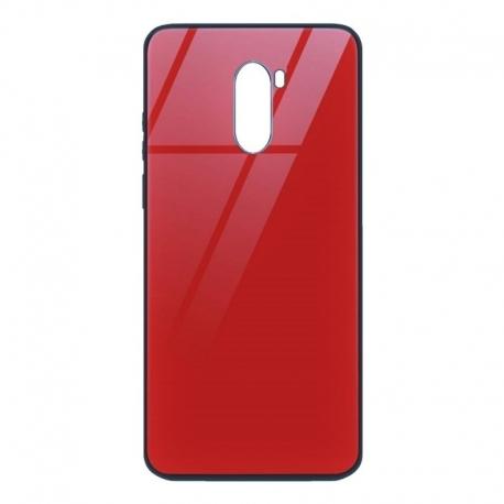 Husa XIAOMI Redmi Note 8 Pro - Glass (Rosu)