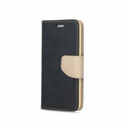 Husa SAMSUNG Galaxy S8 - Fancy Book (Negru&Auriu)