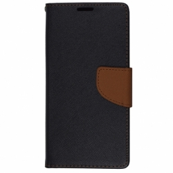 Husa SAMSUNG Galaxy S5 - Fancy Book (Negru&Maro)
