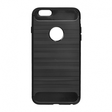Husa APPLE iPhone 6/6S Plus - Carbon (Negru) Forcell