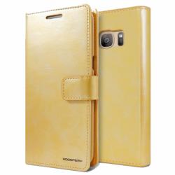 Husa APPLE iPhone 5/5S/SE - Bluemoon Diary (Auriu)