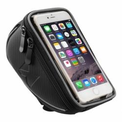 """Suport Telefon Bicicleta Universal cu Ecran Tactil 6.5"""" (Negru)"""