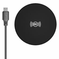 Incarcator Wireless QI (Negru) WK WP-U89