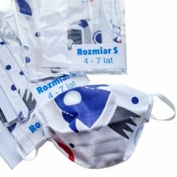 Masca De Protectie Pentru Copii (Racheta) Marime S