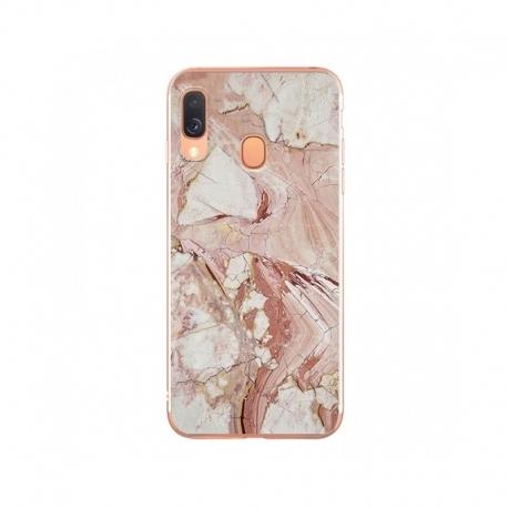 Husa SAMSUNG Galaxy A40 - Marble (Roz) Wozinsky