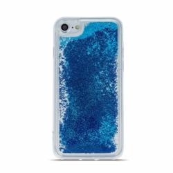 Husa SAMSUNG Galaxy A41 - Sclipici Lichid (Perle - Albastru)