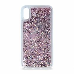 Husa SAMSUNG Galaxy A41 - Glitter Lichid (Violet)