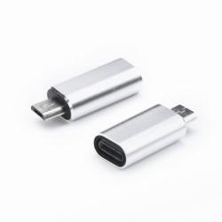 Adaptor MicroUSB - Lightning (Argintiu)