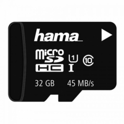 Card MicroSD 32GB (Clasa 10) Hama