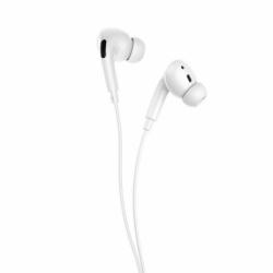 Casti Stereo cu Microfon - mufa Jack 3.5mm (Alb) HOCO M1 Pro