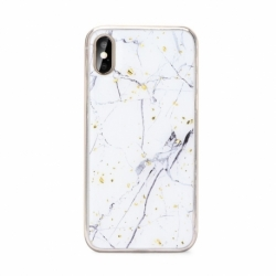Husa HUAWEI P30 Lite - Marble No1 (Alb) FORCELL
