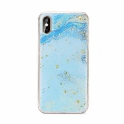 Husa SAMSUNG Galaxy A21s - Marble No3 (Albastru) FORCELL