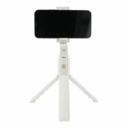 Selfie Stick cu Telecomanda Bluetooth + Trepied (Alb) K07