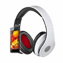 Casti Audio Cu Microfon (Alb) Rebeltec Audio Feel 2