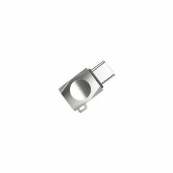 Adaptor MicroUSB - Tip C (Argintiu) HOCO UA8