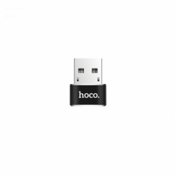 Adaptor OTG USB - Tip C (Negru) HOCO UA6