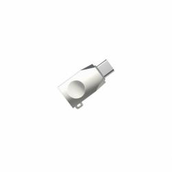 Adaptor OTG USB - Tip C (Argintiu) HOCO UA9