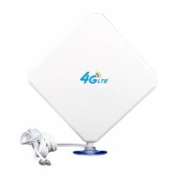 Antena Magnetica 016 LTE 4G 25dBi 2 x TS9 3m