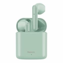 Casti Stereo Bluetooth v5.0 (Verde) Baseus TWS W09