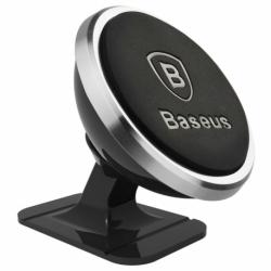 Suport Auto Universal Magnetic Pentru Bord 360 Grade (Argintiu) Baseus SUGENT-NT0S