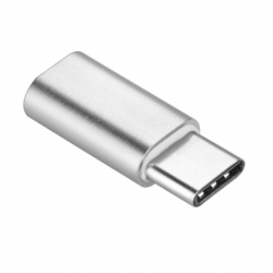 Adaptor OTG USB - Tip C (Argintiu)