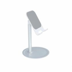 Suport Telefon Pentru Birou Auto-asamblare (Argintiu)