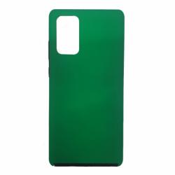 Husa APPLE iPhone X - 360 Grade Colored (Fata Silicon/Spate Plastic) Verde