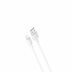 Cablu Date & Incarcare APPLE Lightning 2.4A (Alb) 1m XO NB156