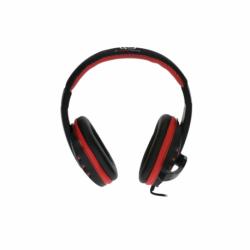 Casti Audio cu microfon, stereo cu 2x Mufa Jack 3.5mm (Negru) Rebeltec Rohan