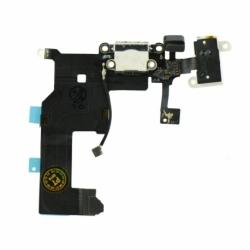 Banda Flex Pentru APPLE iPhone 5 Cu Conector De Incarcare (Alb)