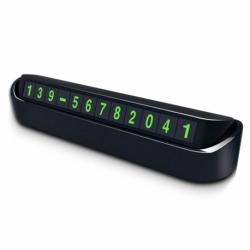 Suport Numar Telefon de Bord (Negru)