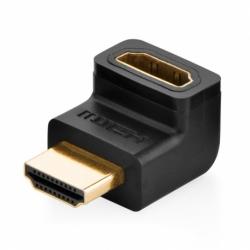 Adaptor HDMI Unghi Sus (Negru) Upgreen 20110