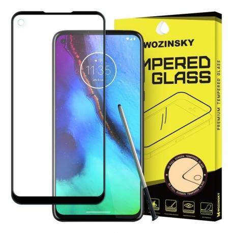 Folie de Sticla 5D Full Glue MOTOROLA Moto G Pro (Negru) Case Friendly Wozinsky