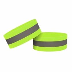 Banda Reflectorizanta Velcro 4cm (Galben)